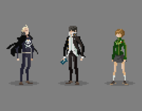 Persona 4 Pixel Characters