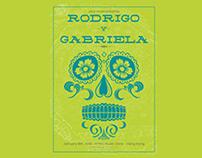 Rodrigo Y Gabriela 2013 Tour Poster