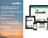 Meadow – Stylish Responsive WordPress Theme