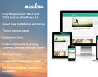 Meadow – Stylish Responsive WordPress Theme