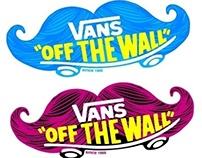 """Vans Asia - """"Moustache"""" T-shirt Logo"""