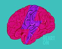 HEART ON