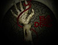 Evil Dead Poster | Art Nouveau Style