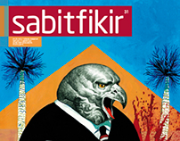 'Sabit Fikir' Magazine Cover for September