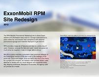 ExxonMobil RPM Site Redesign