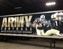 Army Football Equipment Trailer