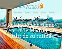 Phoenix Spa | Full corporate identity design