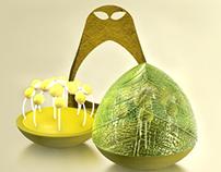 Diseño de packaging experimental para té