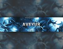 "League of Legends ""AveyUK"" YouTube Branding"