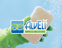AlvEli Cleaning Services Madrid Branding