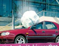NRMA Insurance - Giant Hailstone