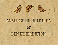 Analiese + Ben | Wedding Invitation