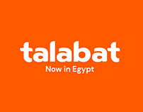Talabat - Now In egypt Campaign