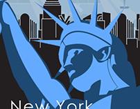 New York Poster (Plakastil & Art Deco)