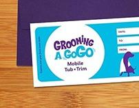 Grooming A Gogo branding