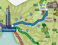 Drive Australia Touring Guide Maps