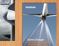 Vestas collateral and ad