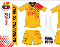 Camisetas Barcelona SC 1987-2001 / 2006-2015