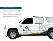 Mobile Marketing + Vehicle Wrap