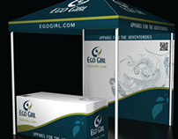 Tradeshow Display + Tent
