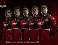 Promotional portraits for the Scarlets