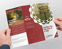 Corporate Trifold Brochure : Hexton Corporation