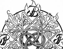Black Phoenix Trading Post Monogram