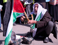 Hamas demonstration to end the division and the siege