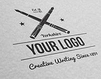 Crossed Pen Writers Logo