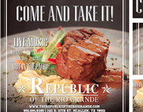 Republic of the Rio Grande | Ad Campaign