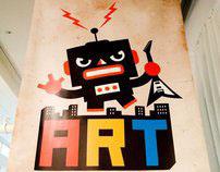 """Gibson / Kramer """"ART ASSAULT"""" Art Basel Miami 2010"""