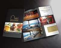INTRODUCING LEAFLET FOR GRANADA RESTAURANT