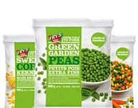 Packaging Design: Frozen Vegetables