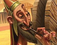 Capa Mesopotâmia - Revista Recreio
