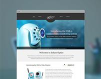 Infant optics website design