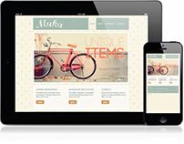 Muka Identity & Website