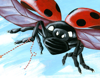 childrens book 'Insects'