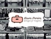 """""""Laura Pereira {Artigos p/ Viagem}"""" Branding"""