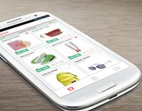 Mobile app- UI/UX design