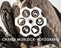 Logo and Blog Header for photographer Charly Morlock