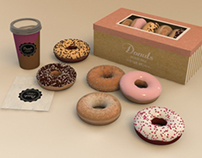 3D Pack Donuts Delivery