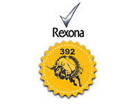 REXONA ADVERTISING BUDGES