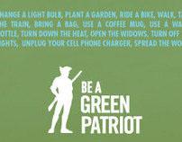 Green Patriot Poster