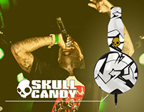 SKULLCANDY - HEADPHONES