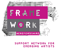 H-art Young Open Logo / Framework Herefordshire