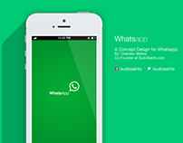 WhatsApp- Redesign Concept