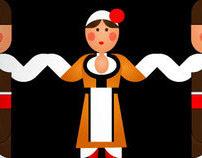 Bulgarian Folklore Dancers