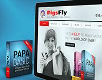 PIGS FLY WEBSITE