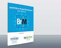 AASHTOWare Bridge Install CD & Manual Cover Design