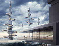 flyingArchitecture contest 2nd prize